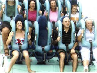 This me on the left, riding Kraken!