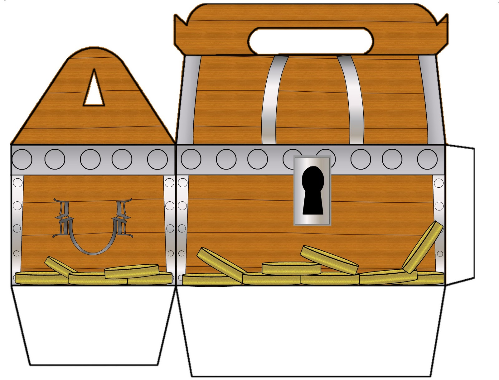 Printable Treasure Chest