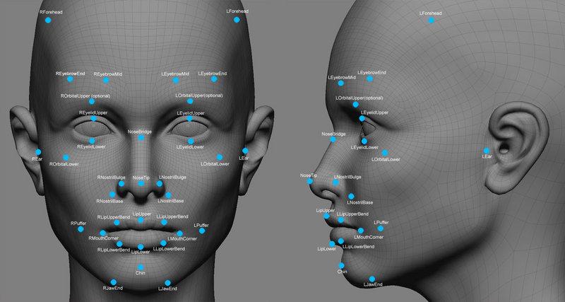 tutorial Facial rigging