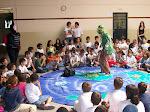Apresentação em escola Municipal de Piracicaba