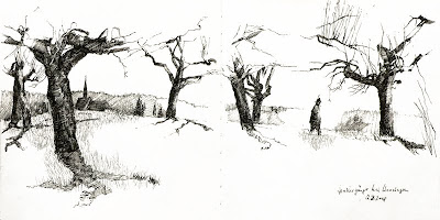 How To Draw Mind Numbingly Beautiful Trees Jeremy Shuback