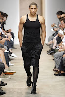 Givenchy Spring/Summer 2010, male tights as part of outfit