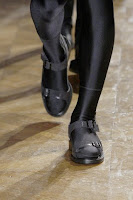 Detail: Givenchy's Fall 2010 Men's line includes spandex tights