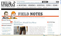 Field & Stream Blog page