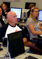 Steve Newman of ActivSkin attends a LinkedIn workshop (Style A677/sheer black)