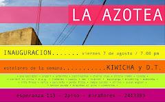 """Estelares de la semana: Kiwicha y Director Técnico, en Inauguración Gran de """" La Azotea"""""""