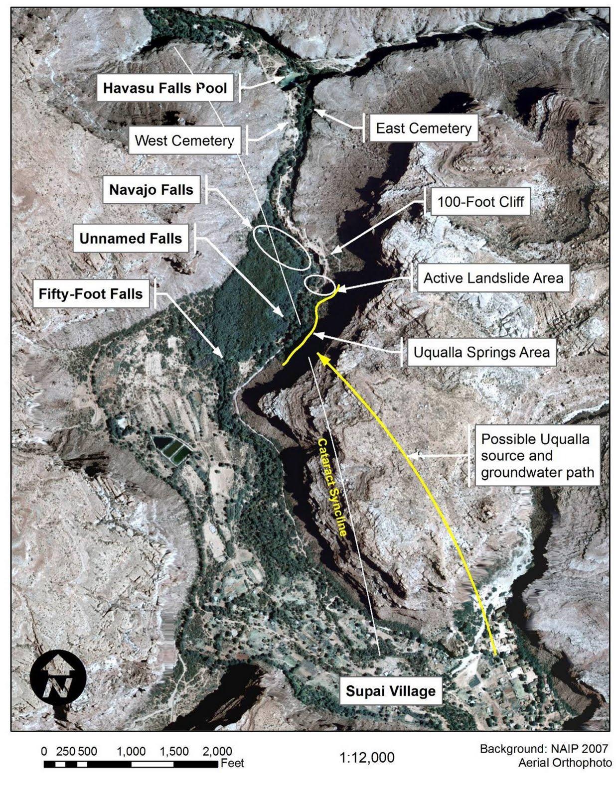 Arizona Geology Flooding Hits Havasupai Area