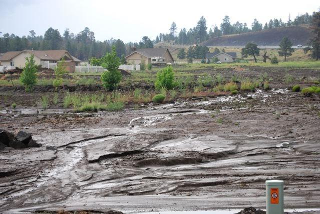 arizona geology  monsoon flooding around arizona