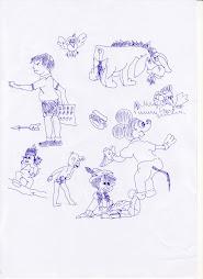 ภาพวาดการ์ตูน 3