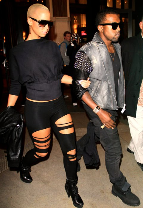 amber rose and kanye west break up. Its true, Kanye West did in