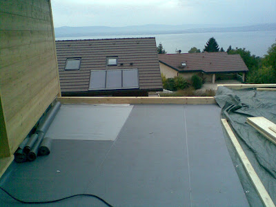 notre maison evian liner toit terrasse. Black Bedroom Furniture Sets. Home Design Ideas