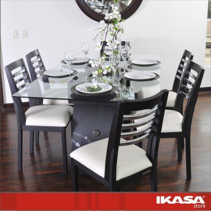 ikasa store muebles: COMEDOR CLOE CROMADO - photo#16