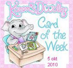 "Mijn kaart  was ""CARD OF THE WEEK""!!! in the USA"