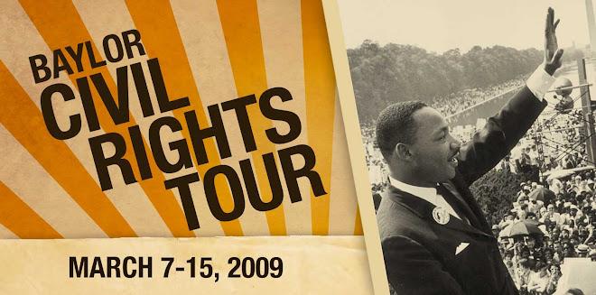 Baylor University Civil Rights Tour