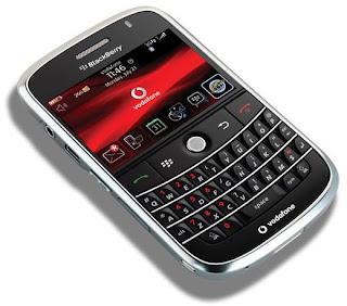 Vodafone UK Start Selling BlackBerry Bold