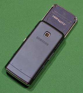 Samung's SPH-M540 Highnote