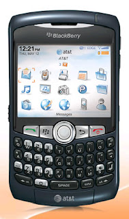 AT&T Now Offering BlackBerry Curve 8320