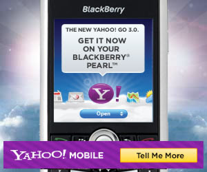 Yahoo! Go now available for the BlackBerry Bold