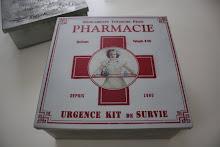 Plåster och medicin låda!