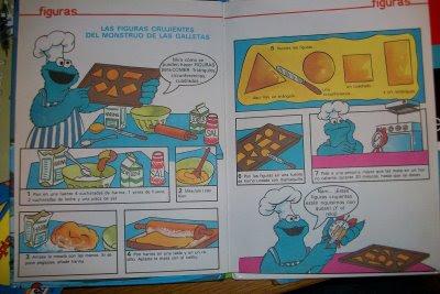 La receta de galletas del monstruo de las galletas