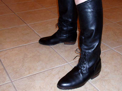 My new dress boots.