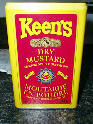 Time to break out the Keen's because it's Mustard Pickle Time!