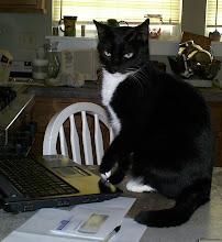 Mrs. Jones at the keyboard