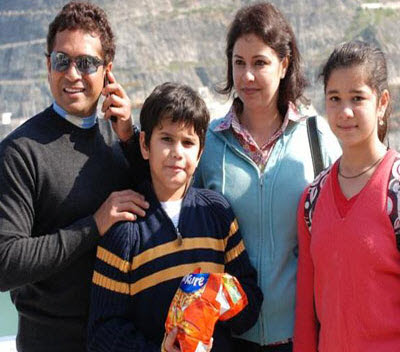 Sachin+tendulkar+son+and+daughter+age