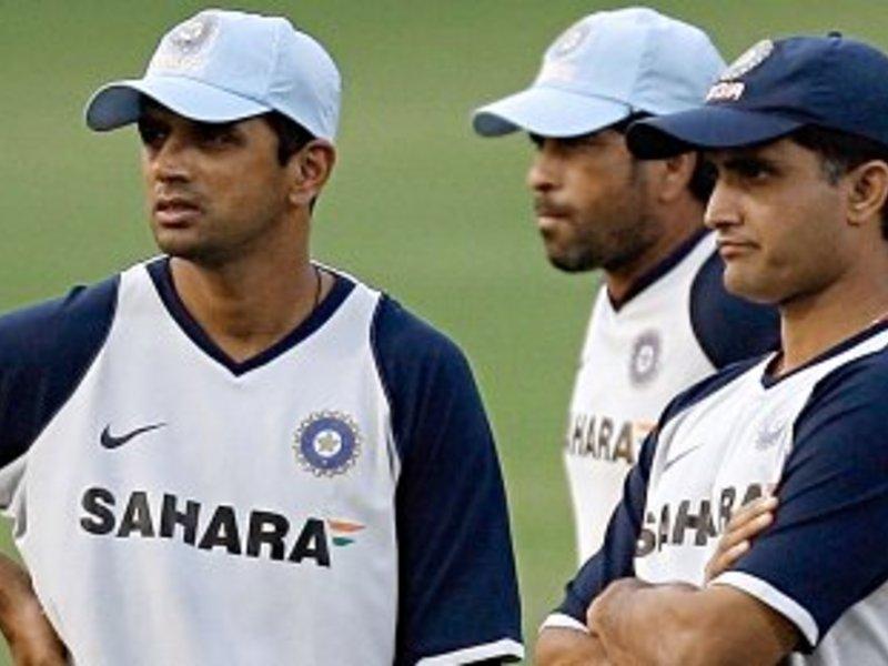 Indian Cricket Bramas Dravid Sachin Ganguly Wallpapers