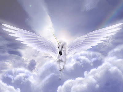 Unicorn white horse Wings wallpapers