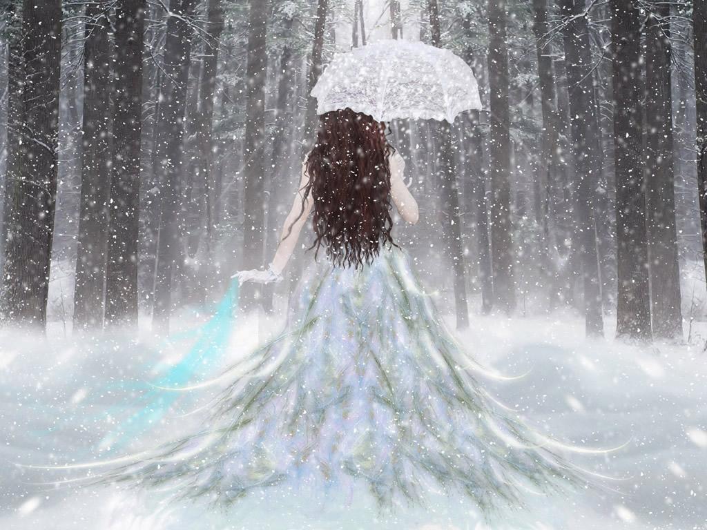 Beautiful Snow Angel