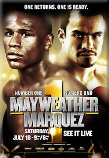Marquez vs Mayweather Sept 19 Fight image