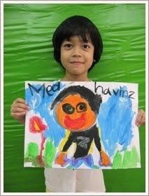 文博的肖像画