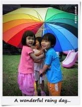 3. 雨中即景的笑靥