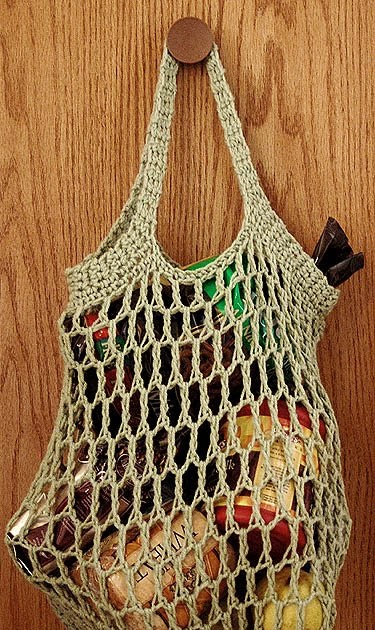 The Adventures Of Cassie Free Reusable Crocheted Grocery