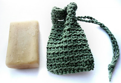 Crochet Soap Saver Body Scrubber - YouTube
