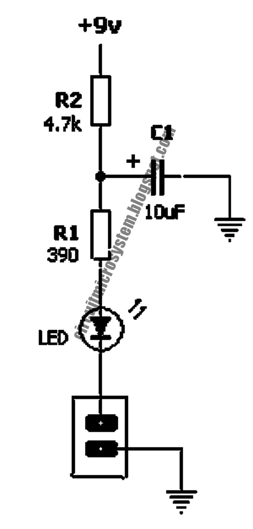 eliminating led pop  click noise circuit