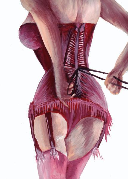 Stripper twirling tassels