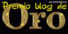 """PREMIO BLOG DE ORO, concedido por """"Hortus Liber"""" y """"Las Palabras del Viento"""""""