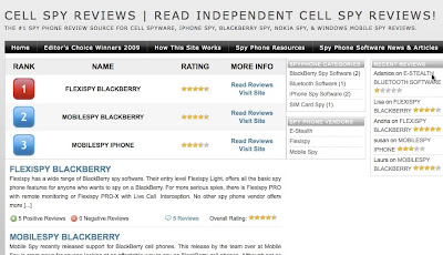 Flexispy BlackBerry Spy Software #1 On Cell Spy Reviews