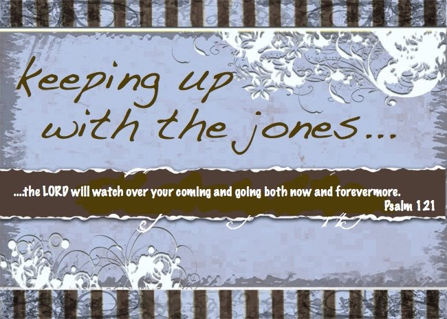 keeping up with the jones...