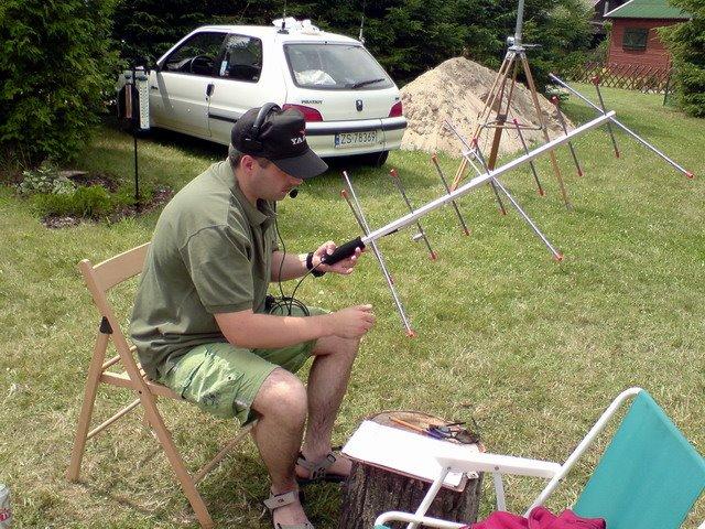 Marianowo biwak pierwszy weekend lipca 2008