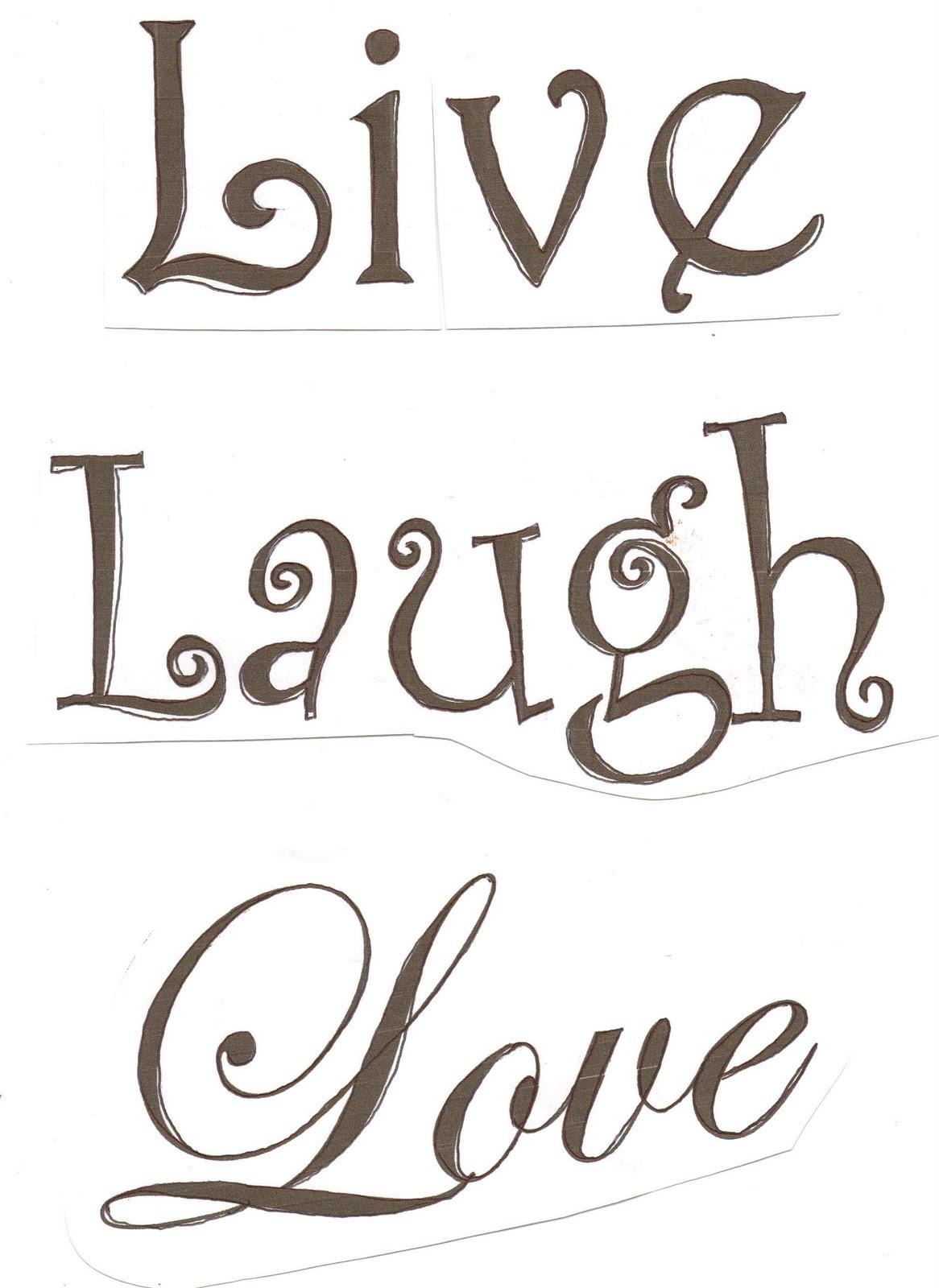 home frosting live laugh love. Black Bedroom Furniture Sets. Home Design Ideas
