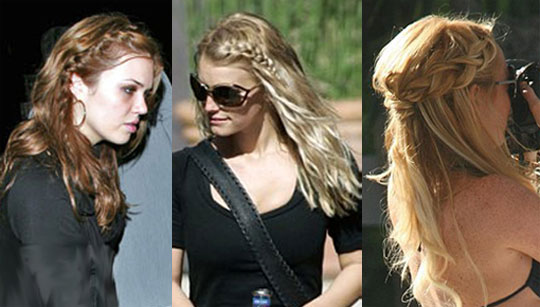 french braid hairstyles. french plait hairstyles.