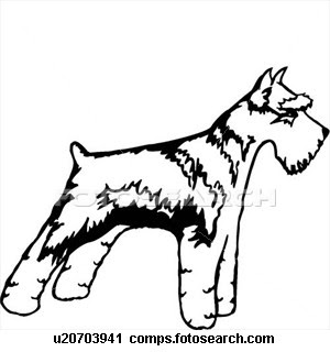 Giant Schnauzer Coloring Pages Dog Coloring Pages