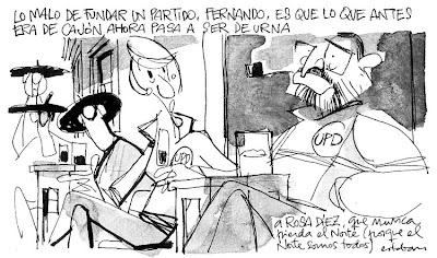 Cuadrilátero de Esteban. 28-09-2007