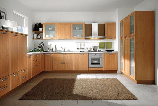 Bb cuisine moderne - Cucine moderne color ciliegio ...