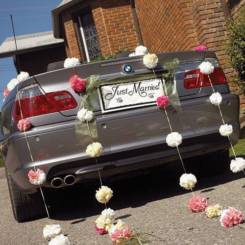 bb: Décoration des voitures de mariage