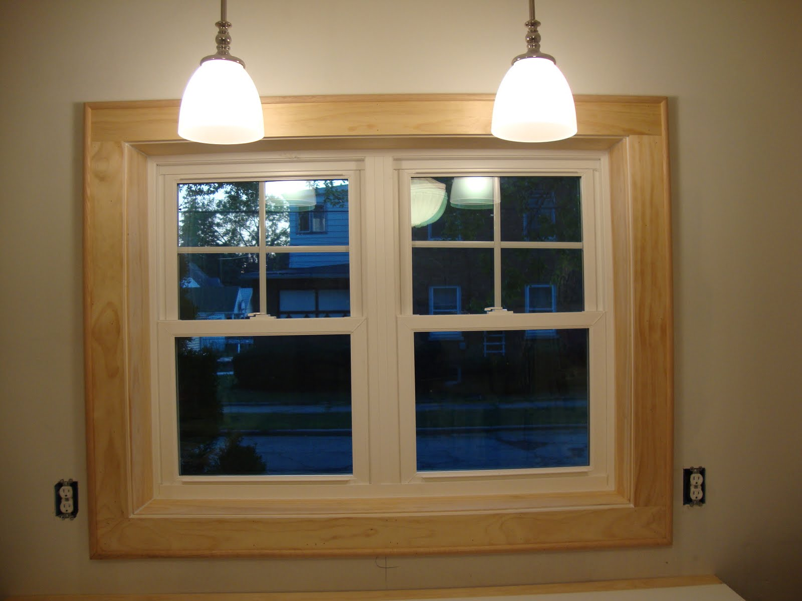 Interior kitchen window trim photos for Window kitchen