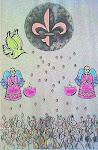 Trindade Santa - Flor-de-lis